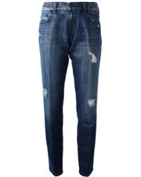 Notify Ripped Jeans - Lyst
