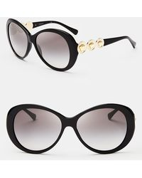 Versace Rock Icons Oversized Sunglasses - Lyst