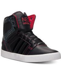Adidas Hi Top Casual Sneakers - Lyst