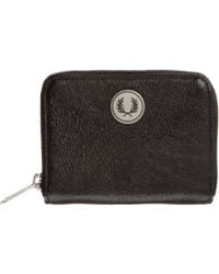 Fred Perry Zip Purse - Lyst