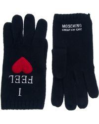 Boutique Moschino - Moschino Cheap and Chic I Feel Love Gloves - Lyst