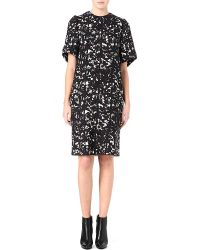 Mulberry Printed Shift Dress - Lyst