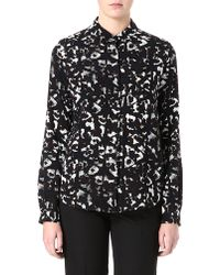 Mulberry Printed Silk Shirt - Lyst