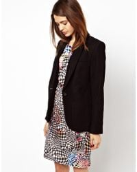 Paul by Paul Smith   Moleskin Blazer with Contrast Collar Stand   Lyst
