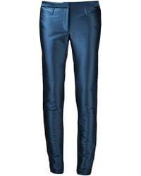 Zac Posen - Straight Leg Trouser - Lyst