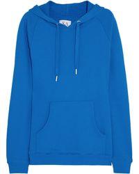 Zoe Karssen Hooded Cottonblend Jersey Sweatshirt - Lyst