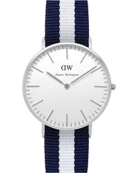 Daniel Wellington Classic Glasgow Ladies Watch silver - Lyst