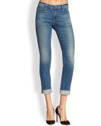Frame Denim Le Garcon Boyfriend Jeans - Lyst