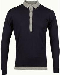 John Smedley Polo Tshirt - Lyst