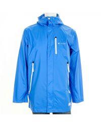 Lyst Adidas Originals M Rain Coat Jacket Bird In Blue For Men