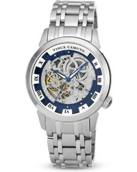 Vince Camuto - The Executive Skeleton Watch 42mm - Lyst