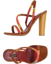 Marc Jacobs High-Heeled Sandals - Lyst