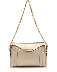 Marc Jacobs Peggy Leather Shoulder Bag - Lyst