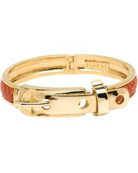 CC SKYE The Python Buckle Bracelet - Lyst