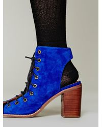Jeffrey Campbell Minimal Lace Up Heel - Lyst