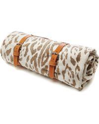 Maslin & Co - Jaguar Hide Towel with Tan Strap - Lyst