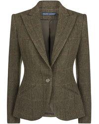 Ralph Lauren Blue Label - Eugenia Hunter Tweed Jacket - Lyst
