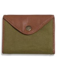 Alternative Apparel - Jack Canvas and Leather Wallet - Lyst