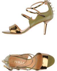 Aperlai - Highheeled Sandals - Lyst