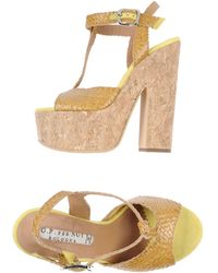 G.p. Per Noy Bologna Platform Sandals - Lyst