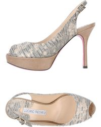 Luciano Padovan Platform Sandals - Lyst