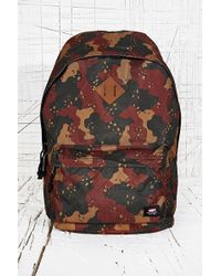 Obey - Quality Dissent Backpack in Desert Camo - Lyst