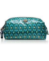 Tory Burch - Large Molded Cosmetic Case - Lyst