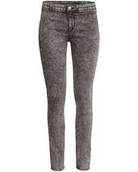 H&M Slimfit Trousers - Lyst