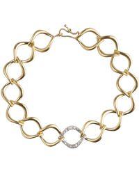 Jamie Wolf 18k Aladdin Chain-Link Bracelet w/ Diamond Link oQLL4hZ