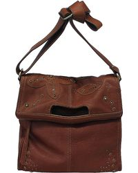Lucky Brand - Beckham Leather Foldover Tote Bag - Lyst