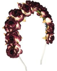 French Connection - Rock N Rose Genevieve Crown Headband - Lyst