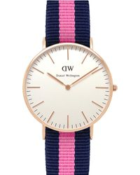 Daniel Wellington 0505Dw Classic Winchester Ladies Watch - For Women purple - Lyst