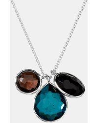 Ippolita | Wonderland Triple Charm Necklace | Lyst