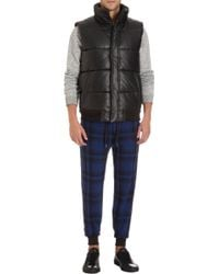 Marc By Marc Jacobs - Quilted Leather Puffer Vest - Lyst
