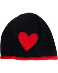Boutique Moschino - Heart Beanie - Lyst