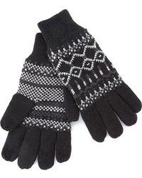Forever 21 - Fair Isle Gloves - Lyst