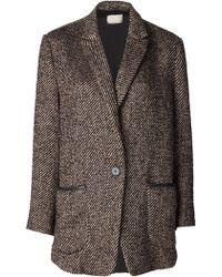 Giada Forte - Single Button Jacket - Lyst