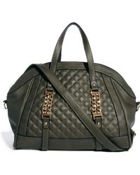Little Mistress - Chessie Chain Quilt Tote Bag - Lyst