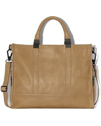 Vince Camuto Anna Leather Tote - Lyst