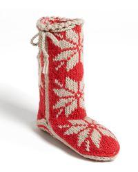 Woolrich Chalet Sock Slipper - Lyst