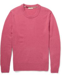 Burberry Brit | Elbow Patch Cashmere Sweater | Lyst