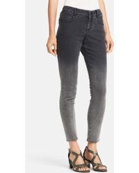 Stella McCartney Women'S 'Simone' Degrade Skinny Ankle Grazer Jeans - Lyst