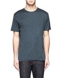 Sunspel Short-Sleeve Crew Neck T-Shirt - Lyst