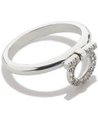 Ferragamo Gancino Ring - Lyst