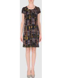 Lara Short Dress - Lyst