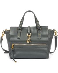 Badgley Mischka - Nora Quilted Nappa Leather Shoulder Bag - Lyst