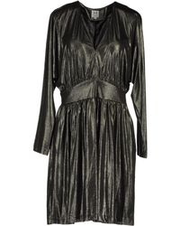 Halston Short Dresses - Lyst