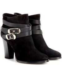 Jimmy Choo Melba Suede Ankle Boots - Lyst