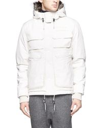 White Mountaineering - Gore-tex® Hooded Down Coat - Lyst
