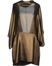 Plein Sud Short Dress - Lyst